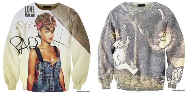 sexy sweaters, rhianna, grunge, where the wild things are