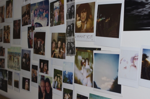 Vauxlair, Sydney, Bondi, Hipster, Home, Interiors, Cool, Rad, Awesome, Epic, Srna Vuckovic, polariod, photos on the wall, photos,