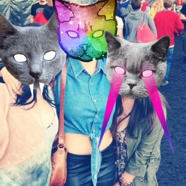 catwang, app, iphone, collage, lasers,