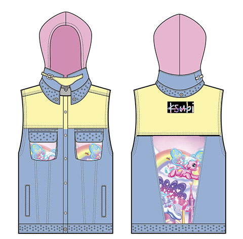 kustom ksubi vest my little pony